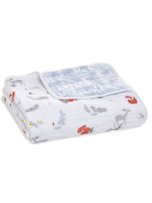 Aden + Anais Muslin Classic Dream Blanket Naturally/Eco Forest