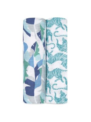 Aden + Anais Classic Swaddles Dancing Tigers 2pk