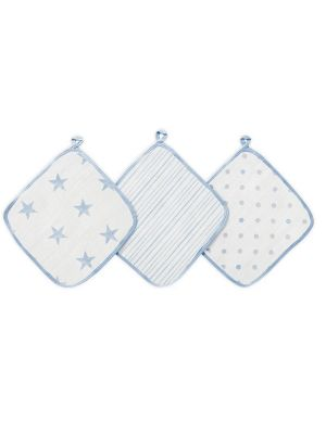 Aden + Anais Washcloths Dapper 3pk