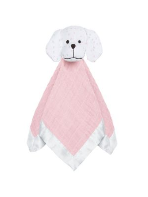 Aden + Anais Musy Mate Lovie Security Blanket Lovely Reverie-Mini Hearts