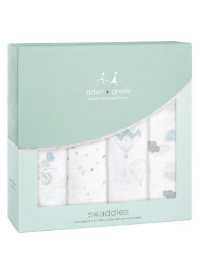 Aden + Anais Muslin Swaddles Night Sky Reverie 4pk