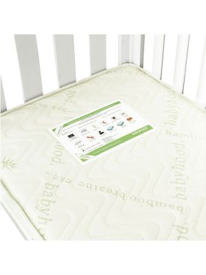 Babyhood Bamboo Breath Eze TM Innerspring Mattress 129.5x69x10cm  (Compatible with Mila & Bella Cots)