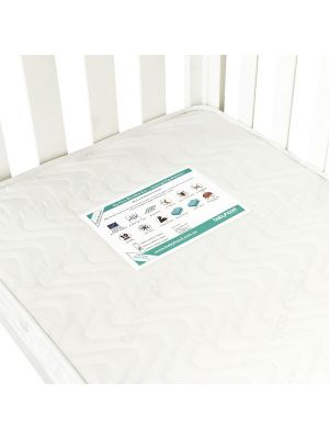Babyhood My First Standard Breath Eze TM Innerspring Mattress 129.5x69x10cm  (Compatible with Mila & Bella Cots)