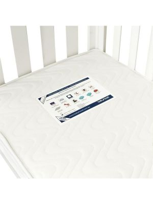 Babyhood Orthopaedic Breath Eze TM Standard Innerspring Mattress 129.5x69x10cm  (Compatible with Mila & Bella Cots)