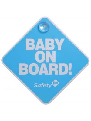 Safety1st Baby On Board Sign Blue