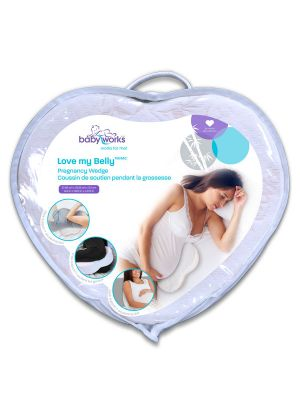 Baby Works Love My Belly Pregnancy Wedge With Rayon From Bamboo Cover