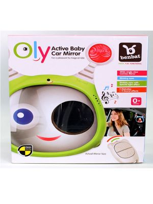 Benbat OLY Active Baby Mirror Green