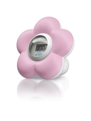 Avent Room & Bath Thermometer Pink