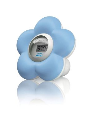 Avent Room & Bath Thermometer Blue