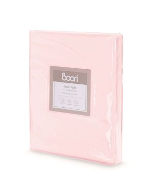 Boori Compact Fitted Sheet Pink