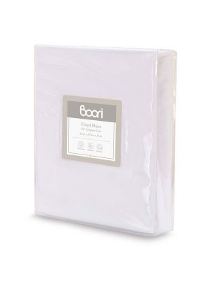 Boori Compact Fitted Sheet White