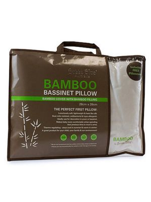 Bubba Blue Bamboo Bassinet Pillow & Pillow Case