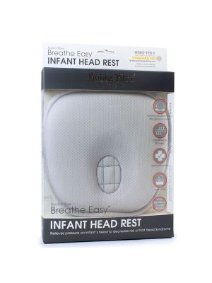 Bubba Blue Breathe Easy Infant Head Rest 0-4m GREY
