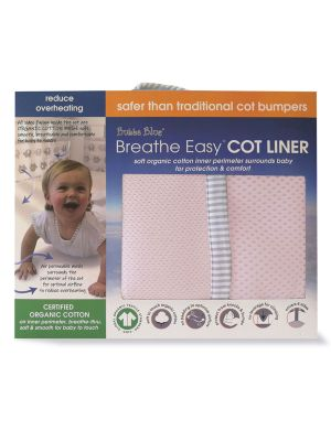 Bubba Blue Pink Cot Liner