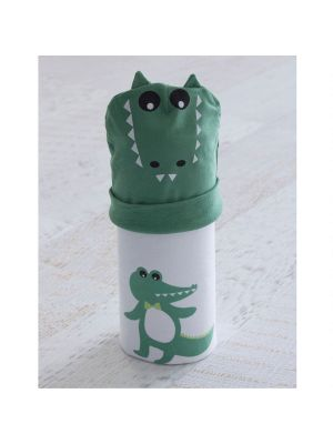 Bubba Blue Stretchie & Beanie Set Crocodile