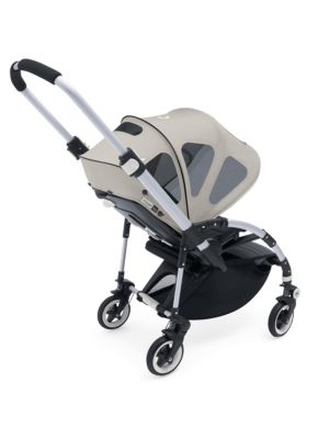 Bugaboo Bee Breezy Sun Canopy Arctic Grey (Only suitable for Bee+ and Bee3)