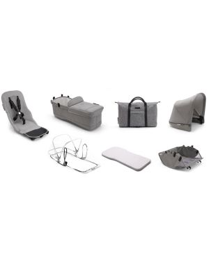 Bugaboo Donkey2 Mineral Style Set Complete Light Grey