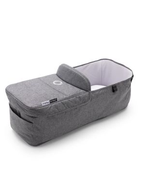 Bugaboo Donkey 3 Bassinet Fabric Complete Grey Melange  - Due Late May 2020