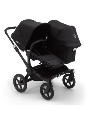 Bugaboo Donkey 3 Duo Stroller Black/Black-Black - Due Early April 2020