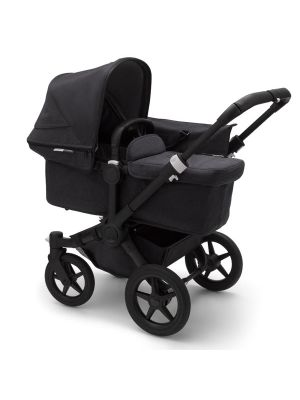Bugaboo Donkey 3 Mineral Mono Complete Stroller Black/Washed Black