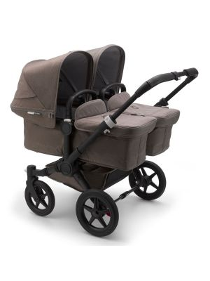 Bugaboo Donkey 3 Mineral Twin Stroller Black/Taupe