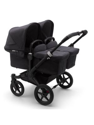 Bugaboo Donkey 3 Mineral Twin Stroller Black/Washed Black