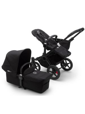 Bugaboo Donkey 3 Mono Complete Stroller Black/Black-Black - Due in May 2020