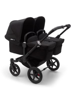Bugaboo Donkey 3 Twin Stroller Black/Black-Black - Due Early April 2020