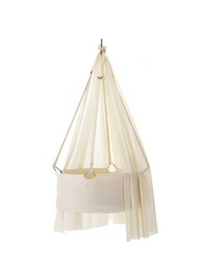 Leander Canopy For Cradle White