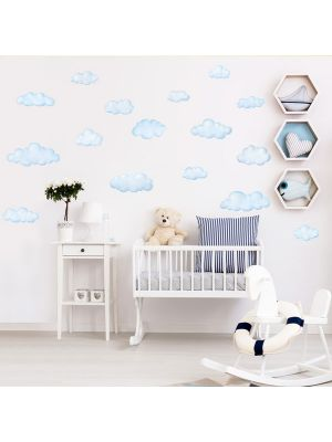 Decowall Clouds Wall Stickers