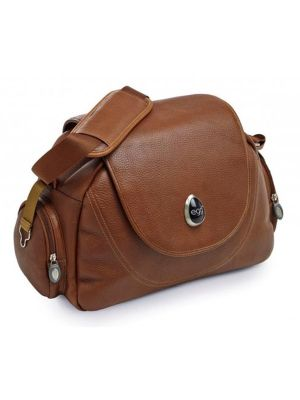 Egg Changing Bag Tan Leather