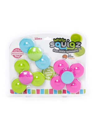 Fat Brain Whirly Squigz Toy