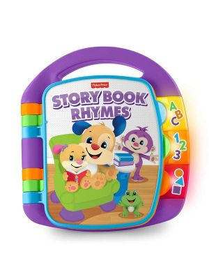 Fisher Price Laugh & Learn Storybook Rhymes Purple