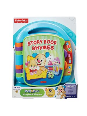 Fisher Price Laugh & Learn Storybook Rhymes Blue