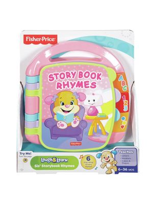 Fisher Price Laugh & Learn Storybook Rhymes Pink