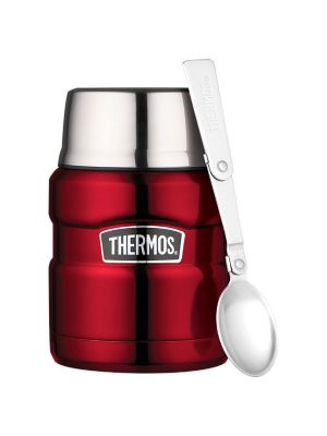 Thermos® Stainless King™ Vacuum Food Jar Red 470ml