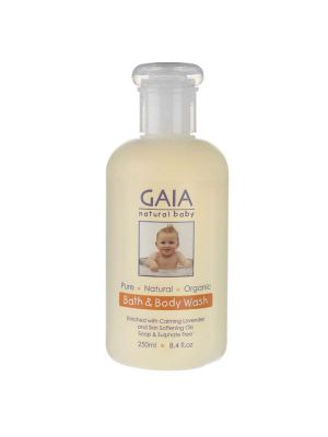 GAIA Baby Bath & Body Wash 250ml