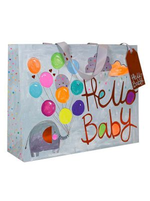 Waterlyn Glick Hello Baby Large Gift Bag