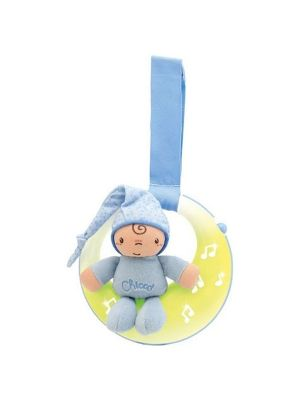 Chicco Nursery Activity Good Night Light Moon Blue