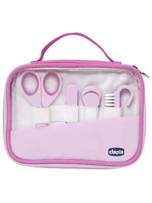 Chicco Happy Hands Hygiene Set Pink