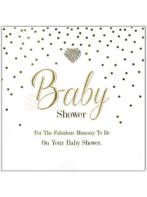Waterlyn Baby Shower Greeting Card HDMDBS