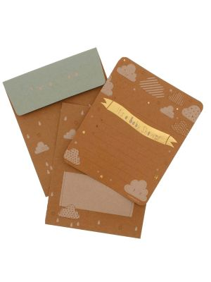 Hipp Cloud9 Baby Shower Invitations Kraft (20s)