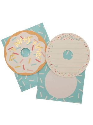 Hipp Donut Party Invitations (20s)