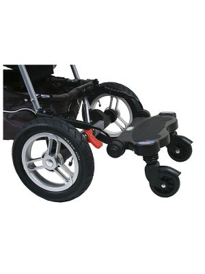 Valco Baby Ride On Stand Hitchhiker Black