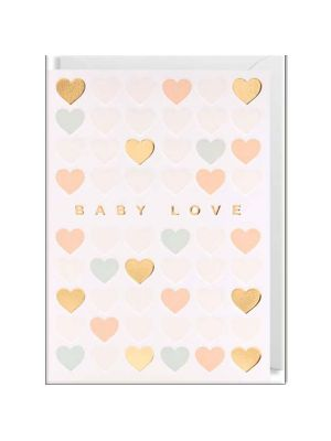 Waterlyn Lagom Baby Love Greeting Card LAG_6302