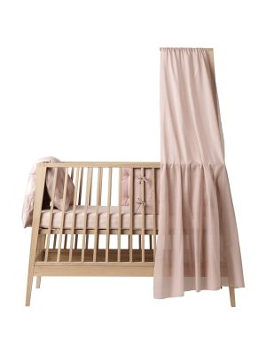 Leander Linea Cot Canopy - Soft Pink