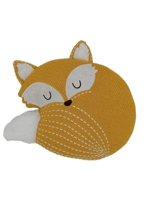Lolli Living Woods Knitted Cushion Fox