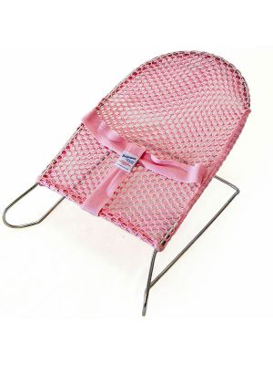 Love N Care Baby Bounce Wire Bouncer Pink