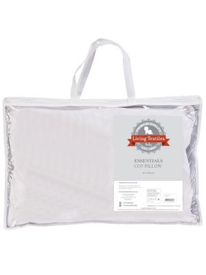 Living Textiles Cot Pillow White