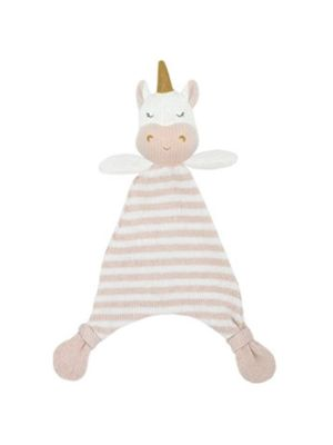 Living Textiles Knit Security Blanket Kenzie the Unicorn